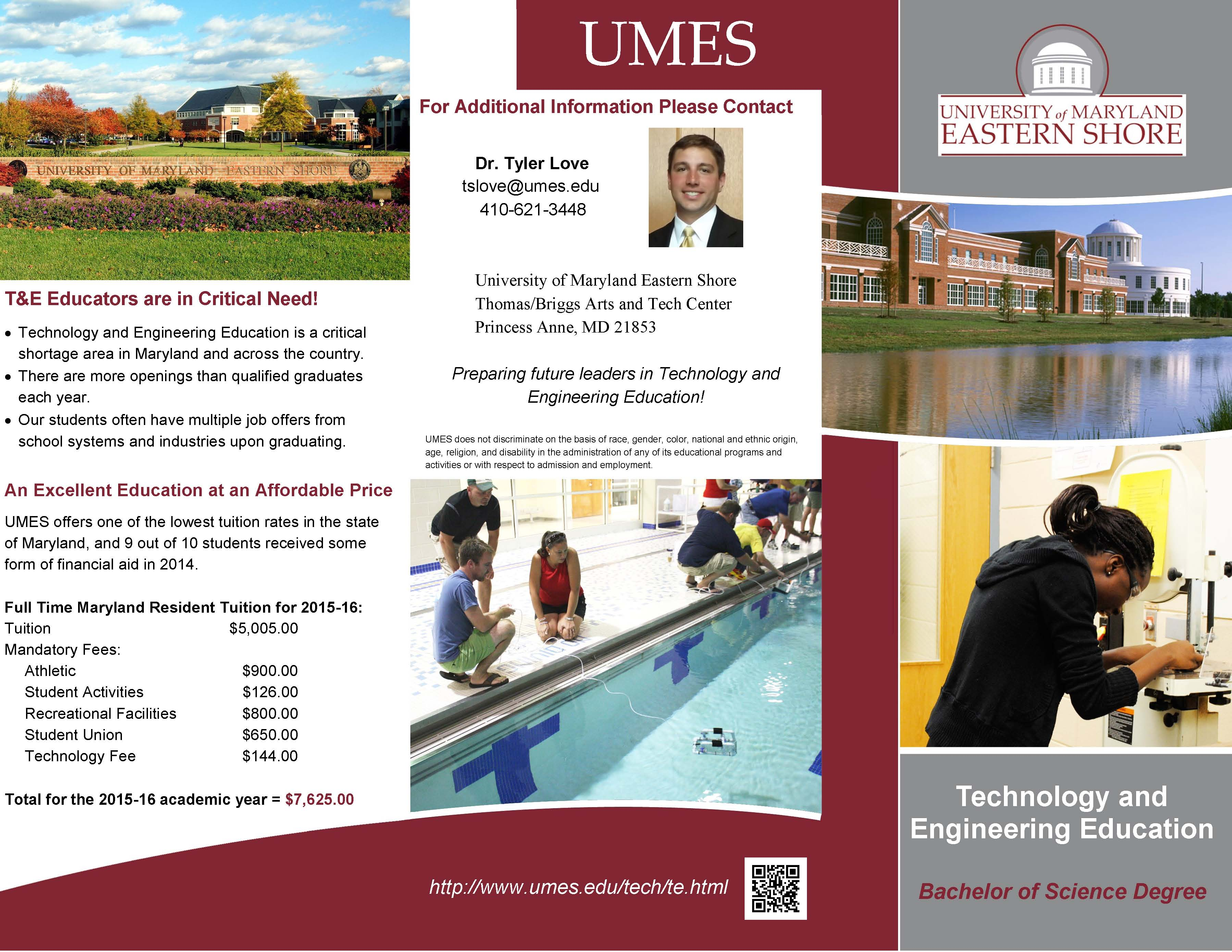 larger image of Technology and Engineering Education brochure